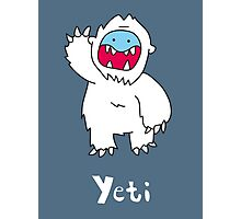 Y for Yeti Photographic Print