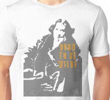 Lady Oscar Wilde Unisex T-Shirt
