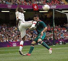Mexico v Switzerland by Matt Eagles