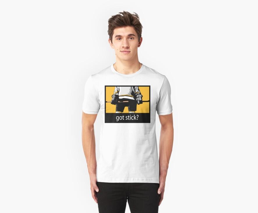 "Hockey ""Got Stick?"" by SportsT-Shirts"