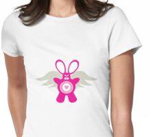El conejo maldito Womens Fitted T-Shirt