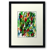 Primary Composition Framed Print