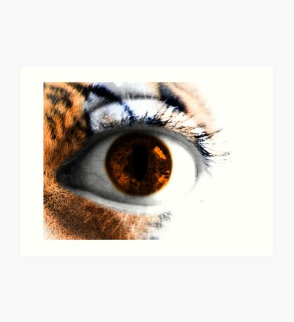 Tigers Eye Art Print
