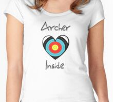 Archer inside (BIG) Women's Fitted Scoop T-Shirt