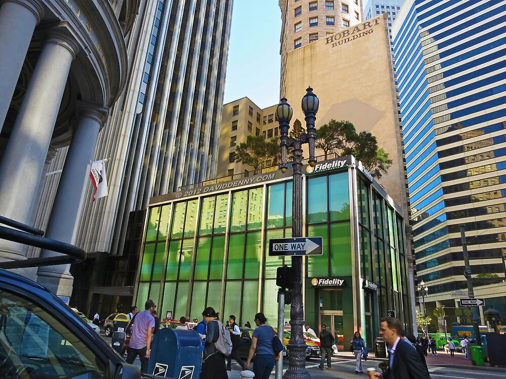 San Francisco Rush Hour by David Denny