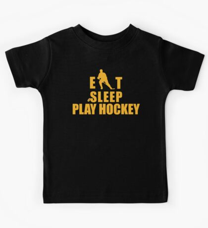 Eat Sleep Play Hockey Kids Tee