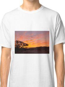 Desert red sunrise  Classic T-Shirt