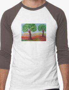 Strong Trees  Men's Baseball ¾ T-Shirt
