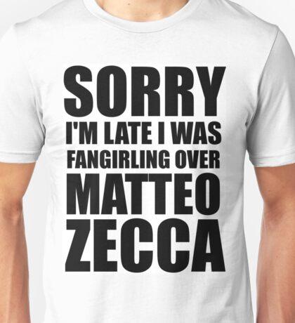 Sorry... Matteo Zecca Unisex T-Shirt