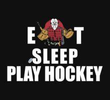 Eat Sleep Play Hockey by SportsT-Shirts