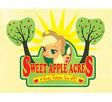 Sweet Apple Acres Photographic Print