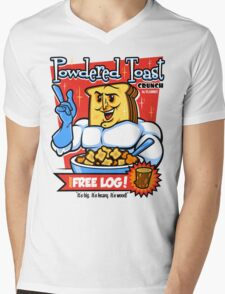 Powdered Toast Crunch Mens V-Neck T-Shirt