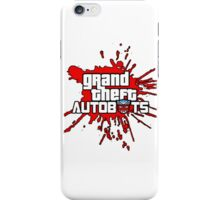 Grand theft autobot iPhone Case/Skin