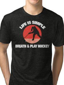Hockey Tri-blend T-Shirt