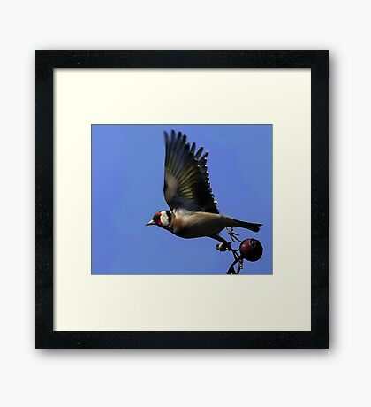 Just Leaving Framed Print
