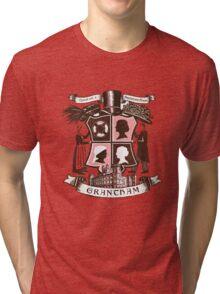 Grantham coat of arms (pink) Tri-blend T-Shirt
