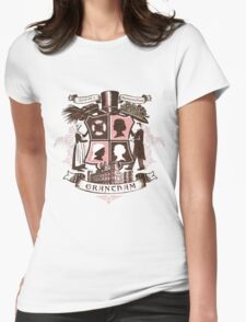 Grantham coat of arms (pink) Womens Fitted T-Shirt