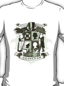 Grantham coat of arms (green) T-Shirt