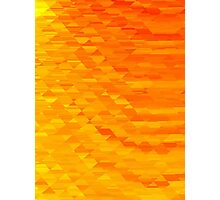 Sunrise in Abstract 01 Photographic Print