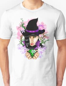 Green-Eyed Healing Witch T-Shirt