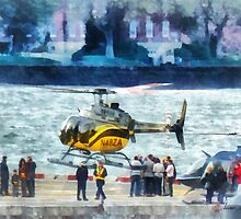 Manhattan Heliport by Susan Savad