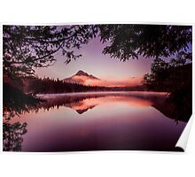 Mt. Hood from Lost Lake Poster