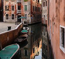 Venice, Italy - Wandering Around the Small Canals by Georgia Mizuleva