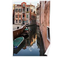 Venice, Italy - Wandering Around the Small Canals Poster