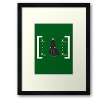 Welcome to the Matrix... Framed Print