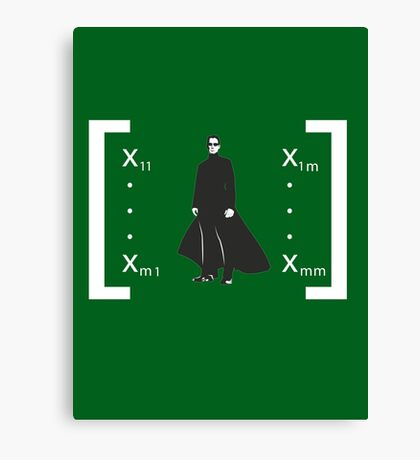 Welcome to the Matrix... Canvas Print