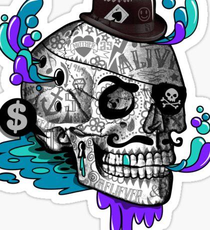 The Tattooed Gentleman Sticker
