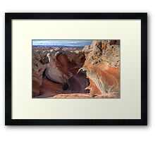 A Scoop of White Pocket Ice Cream Framed Print