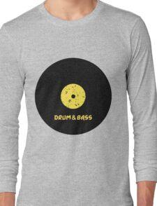 Drum & Bass (Vinyl) Long Sleeve T-Shirt