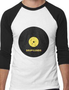 Drum & Bass (Vinyl) Men's Baseball ¾ T-Shirt