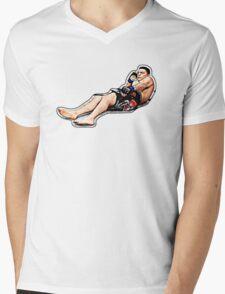 Don't Be Scared Homie Mens V-Neck T-Shirt