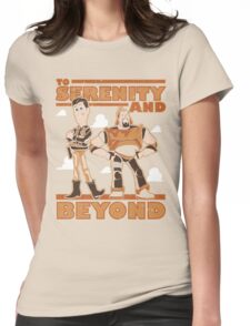 Serenity and Beyond Womens Fitted T-Shirt