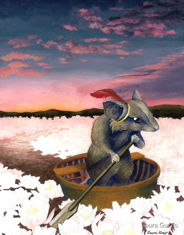 Reepicheep's Last Voyage (From Narnia) by Laura Guzzo