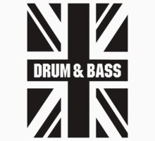 DRUM AND BASS UK One Piece - Short Sleeve