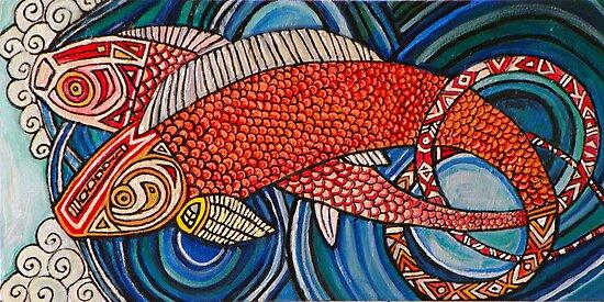 Upstream by Lynnette Shelley