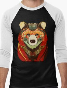The Bear Men's Baseball ¾ T-Shirt