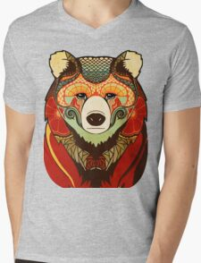 The Bear Mens V-Neck T-Shirt
