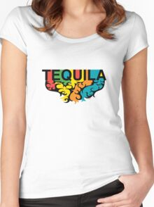Tequila Rules Women's Fitted Scoop T-Shirt