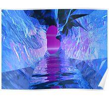 Blue Melt III - Inside The Fissure Poster