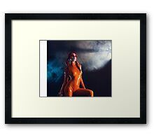 Sexy Science Fiction Girl Framed Print