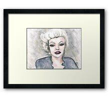 Marilyn. . . Framed Print