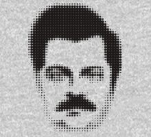Ron Swanson Retro  T-Shirt