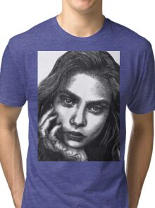 Cara  Tri-blend T-Shirt