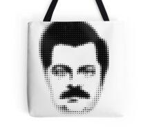 Ron Swanson Retro  Tote Bag