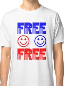 Free. Feel free. Classic T-Shirt