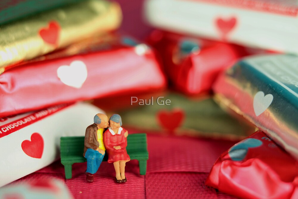 The old lovers memorize Valentine's Day by Paul Ge